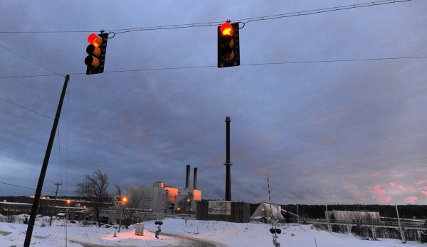 Great Northern Paper Co. in East Millinocket in this January 2014 file photo.