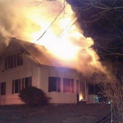 Fire destroys apartment building in Bucksport; dog may have perished