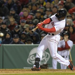 Rangers use five-run third to beat Red Sox