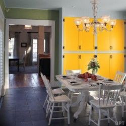 Among the initial DIY home-improvement projects that Mainers can undertake in spring is changing a home's decor by painting new color schemes on interior walls.