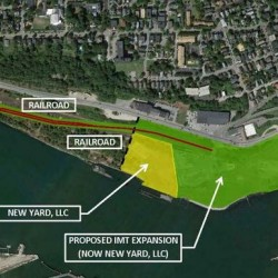 Expansion of the International Marine Terminal in Portland could begin this summer, after the Maine Department of Transportation bought about 15 acres and railroad lines along Commercial Street.