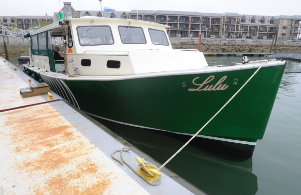 The Lulu a lobster fishing and seal watching tour boat that offers rides out of Bar Harbor.