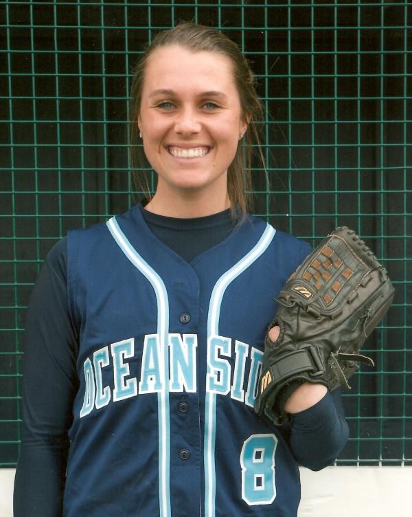 Oceancide High School softball player Brooke Dugan