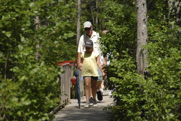 The Orono Bog Boardwalk is set to reopen for visitors July 24, 2014.