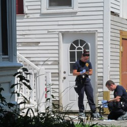 Police locate two men of interest in Biddeford double homicide, arrest one on unrelated charge