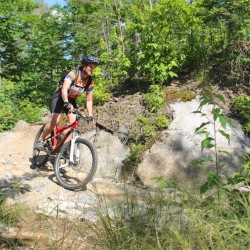Weekly family and youth mountain bike ride in Bangor