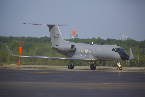 The plane carrying a second patient infected with the ebola virus from Africa to Atlanta stopped to refuel at Bangor International Airport on Tuesday morning.