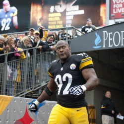 Longtime Pittsburgh Steelers linebacker James Harrison announced his retirement Saturday. He played last season with the Bengals.