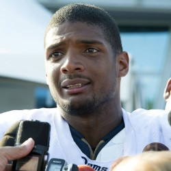 Defensive lineman Michael  Sam's dream of becoming the first openly gay player in the National Football League was put on hold Saturday when he failed to make the St. Louis Rams' 53-man roster for the 2014 regular season.