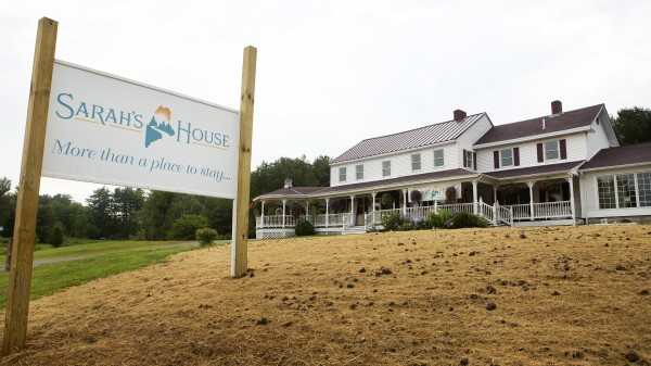 Sarah's House in Holden is seen Wednesday. The former Fox Run Furniture building on US 1A is being converted into housing for families of cancer victims from outside the area as a place to stay while they or their loved ones are undergoing treatment in Bangor-Brewer.