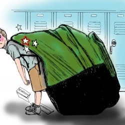 Can I carry your books? The rise of the backpack