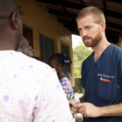 Second American Ebola patient arrives in US when plane stops to refuel in Bangor