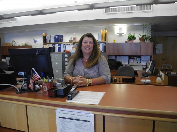 Outgoing City Clerk Denise Beckett's last day behind the counter at city hall was Thursday. Newly appointed clerk Amy Flood will start working for the city on Monday.
