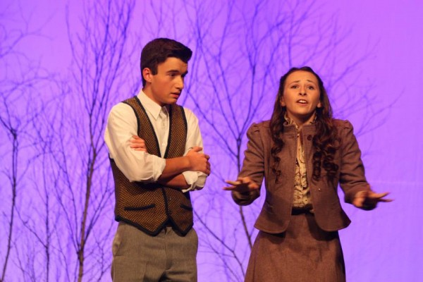 Reed Davis and Catelyn Kimball perform in the Brewer Youth Theatre program's fall production of &quotThe Lion, the Witch and the Wardrobe.&quot The program has been invited to perform in the Edinburgh Festival Fringe in 2015 in Edinburgh, Scotland.