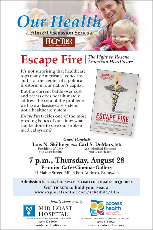Our Health, &quotEscape Fire&quot