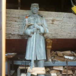 Orono Historical Society seeks funds to repair Civil War statue