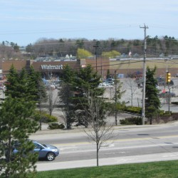 The former Rockland Walmart is shown in this May 2013 photo. Ocean State Job Lot bought the Walmart property on Route 1 in Rockland in December 2013.