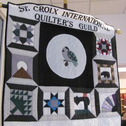 The St. Croix International Quilters' Guild has raised thousands of dollars for the Ronald McDonald House through ticket sales for their annual quilt show and raffle.