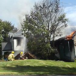 Marshfield home destroyed by fire