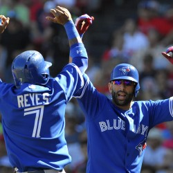 Bautista powers Blue Jays past Red Sox