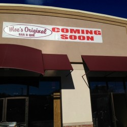 Moe's Original Bar B Que will open in October on Western Avenue in South Portland.