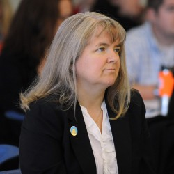 Sen. Rebecca Millett co-hosted the Community Schools Forum on Tuesday at the Eastern Maine Community College in Bangor.