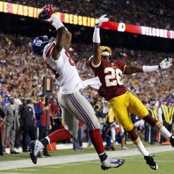 Rookie QB Griffin carries Redskins by Giants