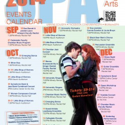 Singing, dancing, plays on tap at UMaine this fall