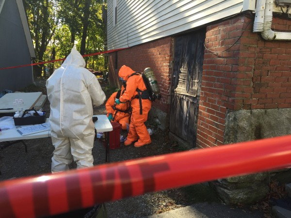 The Maine Drug Enforcement Agency''s Clandestine Drug Laboratory Enforcement Team, Bath police and fire departments, the Sagadahoc County Sheriff's Office and the Maine Department of Environmental Protection investigated a suspected methamphetamine lab at 50 Elm St. on Friday.