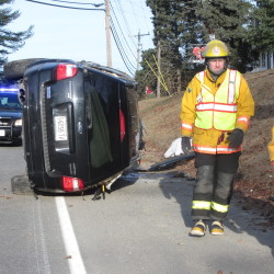 Seat-belted drivers escape serious injuries in rollover crashes