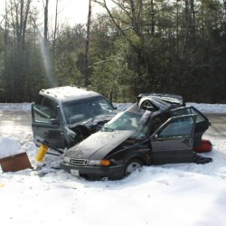 Jay woman dies after vehicle hits tree on Route 41
