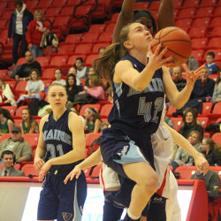 UMaine women's basketball team struggles in loss to Stony Brook