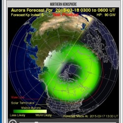 Northern lights may make rare appearance in parts of US, including Maine