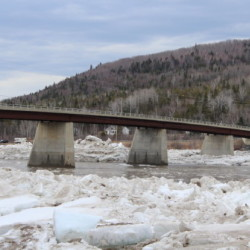 'It is a concern': Pair of bridges raises possibility of ice jams on St. John River