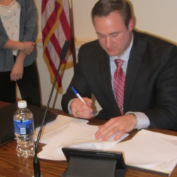 Rockland City Manager James Chaousis
