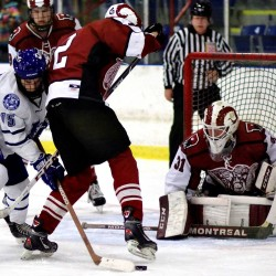 Poulin helps Lewiston hockey team knock off top-ranked Bangor