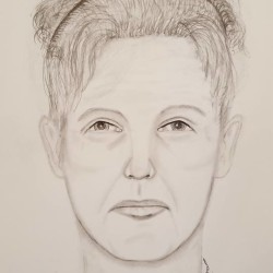 This sketch is of a suspect who appeared at the home of a Union home invasion victim shortly before the robbery.