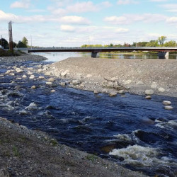 The Howland fish bypass is nearly complete. It is the final leg in a $24 million restoration of the Penobscot River.