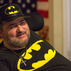 Christopher Richardson of Bangor has filed a petition in Penobscot County Probate Court to change his first name to Batman. He started using the name Batman when he was younger as a way to connect with kids with disabilities while working at a camp and has been known by the name by friends and family ever since.