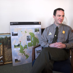 Kevin Schneider is the new superintendent of Acadia National Park.