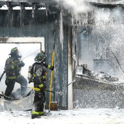 Welding spark ignites blaze that destroys Franklin garage