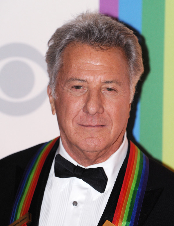 Dustin Hoffman poses for photographers at the Kennedy Center Honors gala in Washington, D.C, Sunday, December 2, 2012.