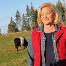 Congresswoman Chellie Pingree is traveling to Cuba on April 30 to meet with organic farmers and agricultural officials. She is pictured here in an undated photo on a Maine farm.