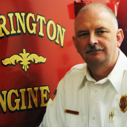 Orrington Fire Chief Mike Spencer