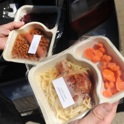 Frozen Meals on Wheels to be delivered in Belfast in March 2015.