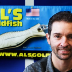 Mike Lee purchased the company making the iconic Al's Goldfish lure last year and moved it to Biddeford from Massachusetts.