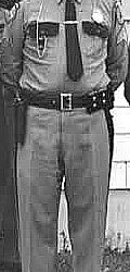 James Brown Sr, shown in his Maine State Police uniform.