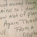 This handwritten note from a Mainer brought a New Orleans librarian to tears