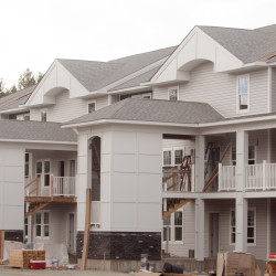 The Avenue Orono, a new student housing complex in Orono, can be seen in this August 2015 file photo.