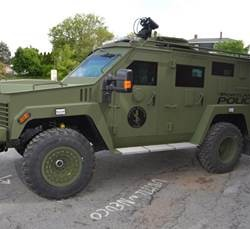 The Bangor Police Department has requested $208,772 to purchase an armor-protected vehicle similar to the one pictured from Lenco Co. in Pittsfield, Massachusetts.